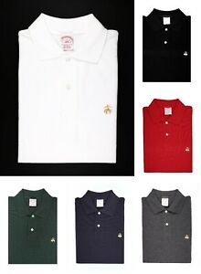 NWT Brooks Brothers Men's Original Fit Performance Polo Shirt Cotton MSRP $89.50