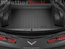 WeatherTech Cargo Liner Trunk Mats for Chevrolet Corvette - 2014-2017 - Black