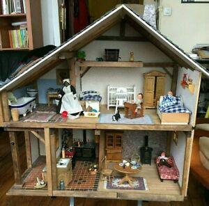 Maison de poupées miniature éditions ATLAS