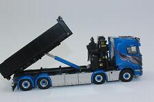 WSI 01-2195  SCANIA Streamline HIGHLINE 8x2 + PALFINGER 7400.2 + Abrollcontainer