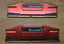 G.SKILL Ripjaws V Series 16GB (2 x 8GB) DDR4 2400 (PC4 19200) Desktop Memory Ram