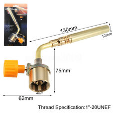 Portable MAPP Gas Turbo Torch Brazing Solder Propane Welding Nozzles Strong Fire