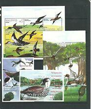 Maldives 1995 Ducks  SG2163-80 + MS2181 Cat.£23.50  mnh.