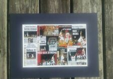 Boston Red Sox 2013 World Series champs matted photo of newspaper front pages