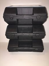 Small Plastic Tool Box Lot Of 3