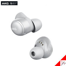 Harman AKG N400 True Wireless Bluetooth Earphones ANC Canal - Silver