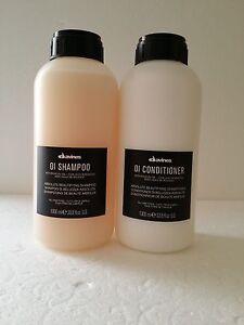 Davines OI Shampoo & Conditioner LITER SET **