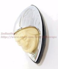 FRONT FENDER LIGHT, Indian Head style for INDIAN MOTORCYCLE; Part Number: 560007
