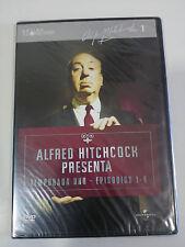 ALFRED HITCHCOCK TEMPORADA 1 EPISODIOS 1-4 DVD SLIM ESPAÑOL ENGLISH NEW NUEVA