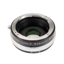 Upgraded version Lens turbo II adapter for Nikon F(G) lens to M4/3(MFT) BMPCC