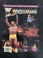 WWF WWE The History of Wrestlemania magazine