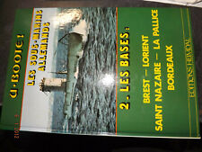 45DN Livre rigide Heimdal 39/45 U.Boote! Les Sous Marins Allemands Les Bases ...