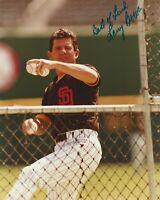 Larry Bowa Autographed 8X10 Photo San Diego Padres