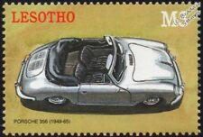 1949-1965 Porsche 356 Mint (estampillada sin montar o nunca montada) sello del automóvil coche deportivo (2000) Lesotho