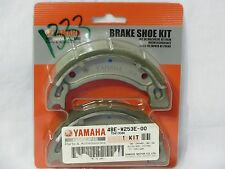 Yamaha NEW OEM Brake Shoes 4BE-W253E-00 XT225 PW80 TTR90 TTR110 Pads Spring