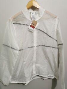 Reebok Women's One Series Hero Reflective Jacket  XL White