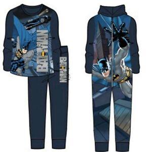 Batman Jumpsuit/Schlafanzug Jungen Hausanzug Overall  1110/116 122/128