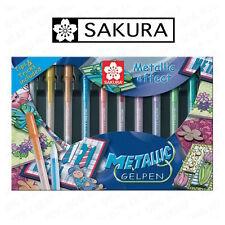 Sakura métallique-medium gelly roll pen 0.4mm - assortiment boîte de 10 (gmbox 10)