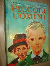 LIVRE BOOK PETITS HOMMES HAUT VERT L.M. ALCOOT DEL DRAGON GARÇONS
