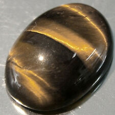 MasterpIece Collection: Bright Golden Tiger's Eye Oval Cabochon (6x4-20x15mm)