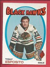1971-72 O-Pee-Chee Hockey # 110 TONY ESPOSITO
