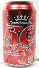 "MT UNOPEN 12oz Royal Crown ""RC"" Cherry Cola (Nehi) Dr. Pepper Snapple USA 2012"