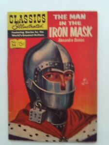 Classics Illustrated #54 - THE MAN IN THE IRON MASK - HRN 142 VG