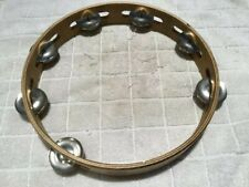 Kenny Rogers Autographed Tambourine, concert and stage used.