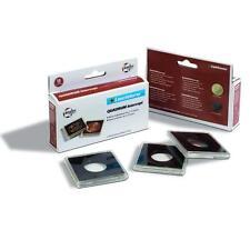 Pack of 6 Square Coin Capsules QUADRUM INTERCEPT inner diameter 22 mm