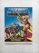 He-man Masters of the Universe Hordak the Ruthless Leaders Revenge mini comic