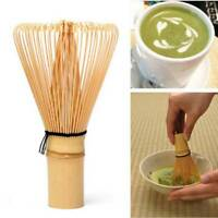 Japanese Ceremony Bamboo 64 Matcha Powder Whisk Green Tea Chasen Brush Tool Y
