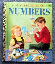 NUMBERS Mary Reed EDITH OSSWALD Violet LaMont LITTLE GOLDEN BOOK #337 Series