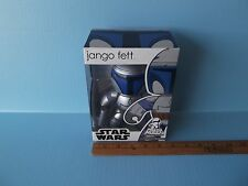 "Star Wars Jango Fett 6.25""in Mighty Muggs w/ blasters"