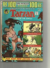 TARZAN #230 VF- 100 READING PAGES WHITE PAGES BRONZE AGE 1974 DC COMICS