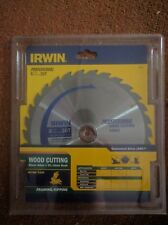 "IRWIN professional wood cutting saw blade 216mm (8 1/2"") 30T Bore 30mm+25mm 16mm"