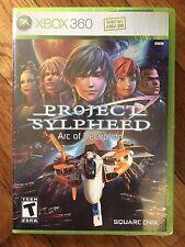 Project Sylpheed: Arc of Deception (Microsoft Xbox 360, 2007) BRAND NEW