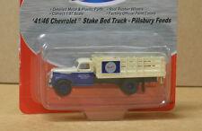MiniMetals 30341 HO '41/46 Chev Stake Bed Truck, Pillsbury Feeds