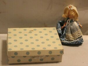 VTG Nancy Ann Storybook Doll Mary Had a Little Lamb 152 Blond with Box