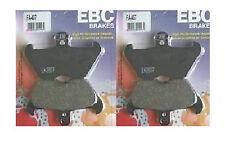 2x conjuntos de Ebc Fa407 Delantera Pastillas De Freno Para Bmw K K1200 LT & k1200 rs