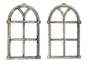 ✅ XL Stallfenster 67x42 Gusseisen Oberlicht Rost Fenster Eisenfenster Antik Stil