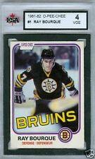Ray Bourque 1981-82 OPC 81 NHL Card #1 KSA 4