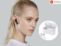 NEW Funcl AI Headset Earphone Touch Smart Earbuds IPX5 Waterproof aptX 3D TWS B5