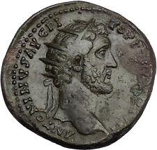 Antoninus Pius 144AD Ancient Roman Coin Hygiea Salus Health Cult i51169