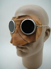 RARE VINTAGE UNUSUAL OLD GOGGLES FACE MASK INDUSTRIAL STEAMPUNK Motoring Car