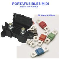 PORTAFUSIBLES MIDI CON FUSIBLE DE 30A 40A 50A 60A 80A 100A 125A