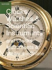 Skinner / Clocks Watches & Scientific Instruments Post Auction Catalog 2014