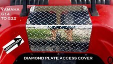 Yamaha G14 to G22 Golf Cart Highly polished Diamond Plate ACCESS PANEL COVER