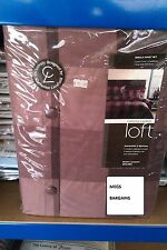 CATHERINE LANSFIELD SINGLE DUVET SET - CHEQUERS, BROWN