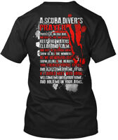 Scuba Diving Prayer - A Diver's Hanes Tagless Tee T-Shirt