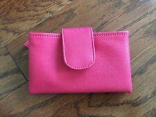 Travel Essentials Travel Make-up Bag Fully Lined Pink